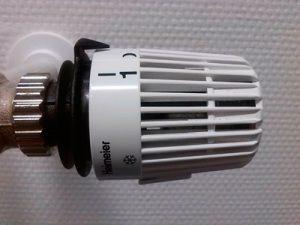 Cómo purgar los radiadores, termostato