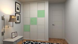 Renueva tus armarios con decoración geométrica