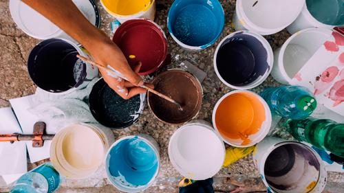 Como pintar paredes pintura