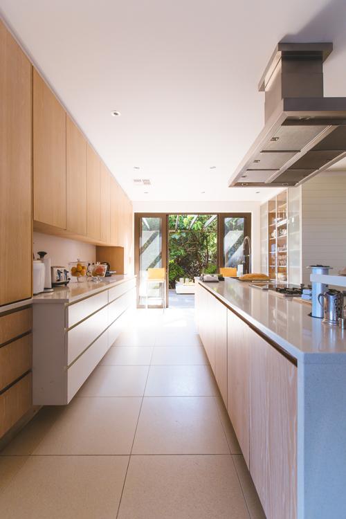 Cocina tras reformar la casa