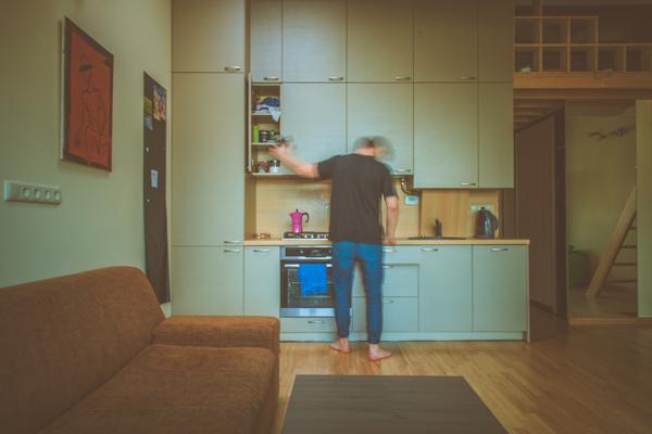 Vida en la cocina